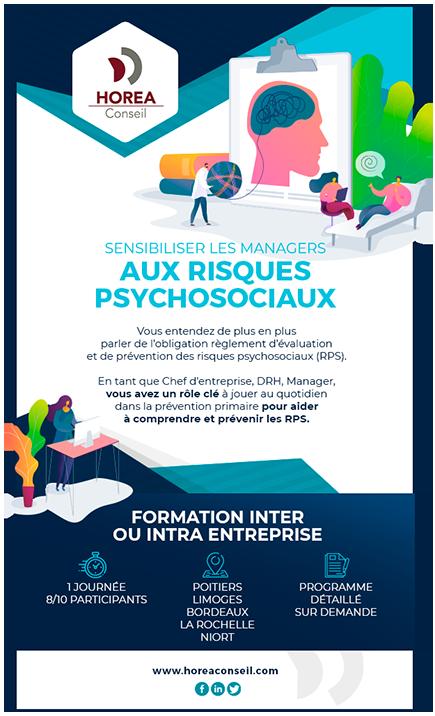 Sensibiliser les managers aux risques psychosociaux